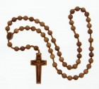 Jujube Wood Rosary - 12mm