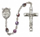 Saints Cosmas and Damian Rosary Heirloom Squared Crucifix