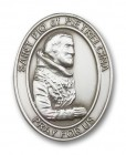St. Pio of Pietrelcina Visor Clip