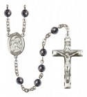 Men's St. Joseph Silver Plated Rosary