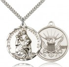 St. Christopher Navy Medal with Eagle