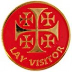 Lay Visitor Pin