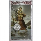 St. Christopher Key Ring with Prayer Card