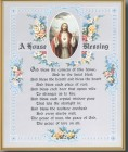 House Blessing Gold Framed Print