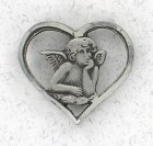 Cutout Angel Lapel Pin (12 pieces per order)