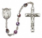 St. Justin Rosary Heirloom Squared Crucifix