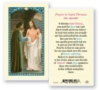 St. Thomas The Apostle Laminated Prayer Cards 25 Pack