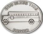 God Bless This Bus Driver Visor Clip