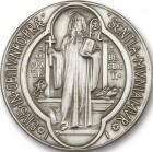 St. Benedict Visor Clip