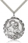 Men's Large Saint Joseph Medal