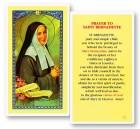 St. Bernadette Prayer Cards - 25 per pack
