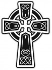 Celtic Cross Auto Decal - 6 per order