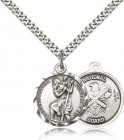 National Guard St. Christopher Medal - Nickel Size