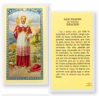 Oracion A San Ramon Nonato Laminated Spanish Prayer Cards 25 Pack