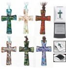 New Jerusalem Cross Christmas Ornaments - 6 per order