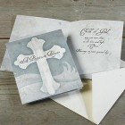 Cross Baptism Prayer Card