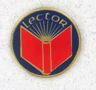 Lector Lapel Pin (12 pieces per order)