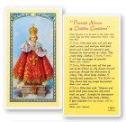 Infant of Prague Novena Laminated Prayer Cards 25 Pack