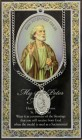 St. Peter Medal in Pewter with Bi-Fold Prayer Card