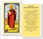 Prayer To St. James Laminated Prayer Cards 25 Pack