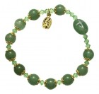 Genuine Gemstone Rosary Bracelet - 8mm, 8 Types Available