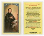 Prayer To St. Gemma Laminated Prayer Cards 25 Pack