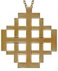Jerusalem Pectoral Cross Pendant