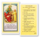 A Wife's Daily Laminated Prayer Cards 25 Pack