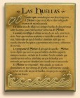 Las Huellas Wall Plaque
