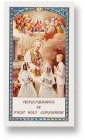 Communion Prayer Boy and Girl Laminated Prayer Cards 25 Pack