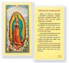 Virgen De Guadalupe Madre Laminated Spanish Prayer Cards 25 Pack