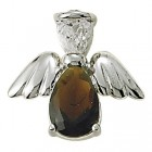 Angel Pin- January Birthstone