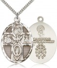 Men's Large 5-Way Holy Spirit Medal