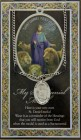 St. Daniel Medal in Pewter with Bi-Fold Prayer Card