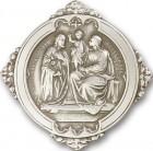 Holy Family Visor Clip