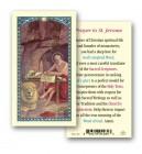 St. Jerome Laminated Prayer Cards 25 Pack