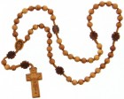 Jujube Wood 5 Decade Rosary - 8mm