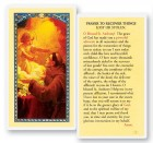 Prayer To Recover Lost Things Laminated Prayer Cards 25 Pack
