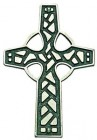Celtic Wall Cross in Pewter - 3.25 inches High
