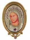 Pope John Paul II Replica of Iconica Mary Brooch