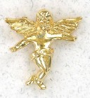 Cast Angel Lapel Pin
