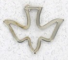 Cutout Dove Lapel Pin-Set of 12