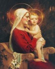 Madonna & Child Print - Sold in 3 per pack