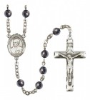 Men's St. Ignatius of Loyola Silver Plated Rosary