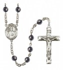 Men's St. Leo the Great Silver Plated Rosary