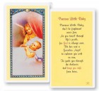 Precious Little Baby Laminated Prayer Cards 25 Pack