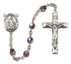 St. Bernadine Rosary Heirloom Squared Crucifix