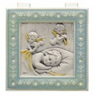 Salerni Sterling Silver Baby Keepsake Box for Girl