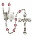 Women's St. Michael Army Birthstone Rosary