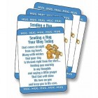 Sending a Hug Prayer Cards - pack of 25